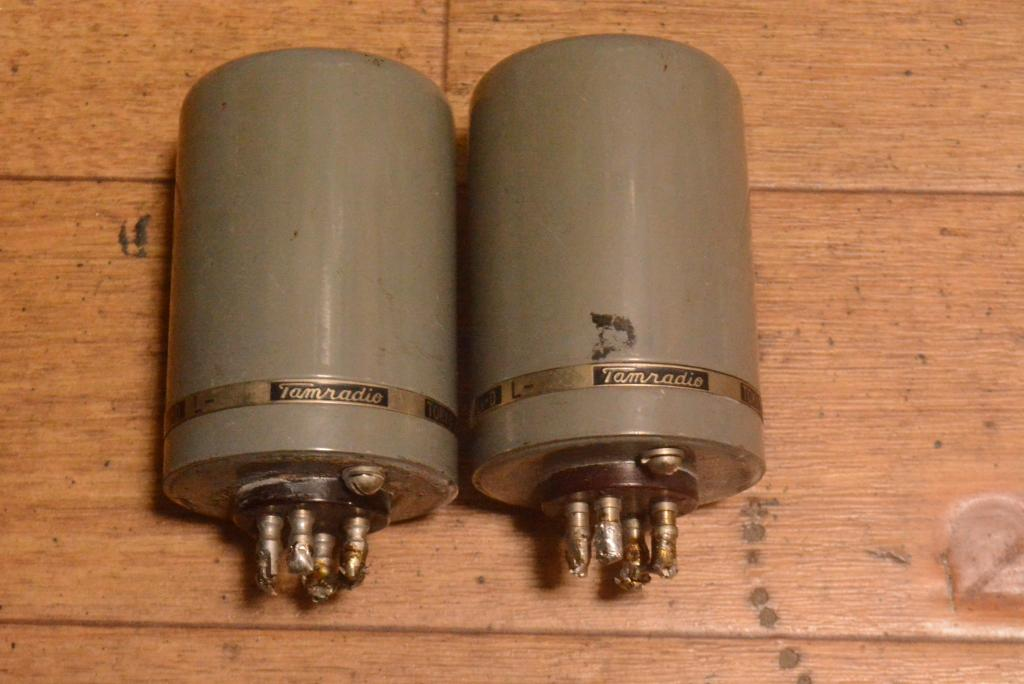 Ex RARE 50s year Tamura special order made for NHK , MC step up transformer for MC cartridge
