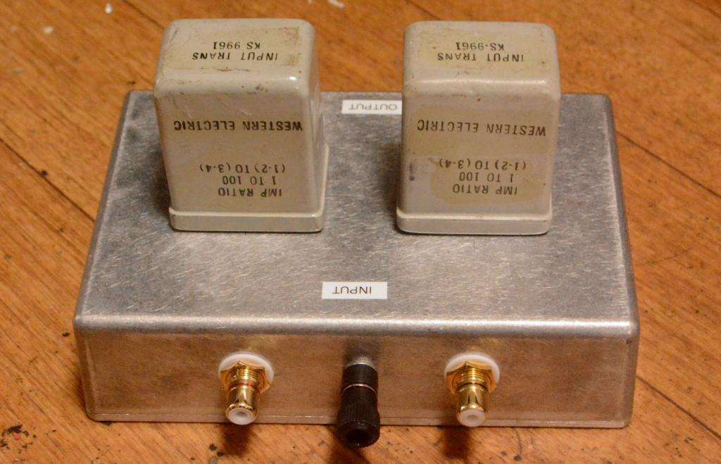 EXTRA RARE !!! Western Electric KS-9961 line, step up transformer,