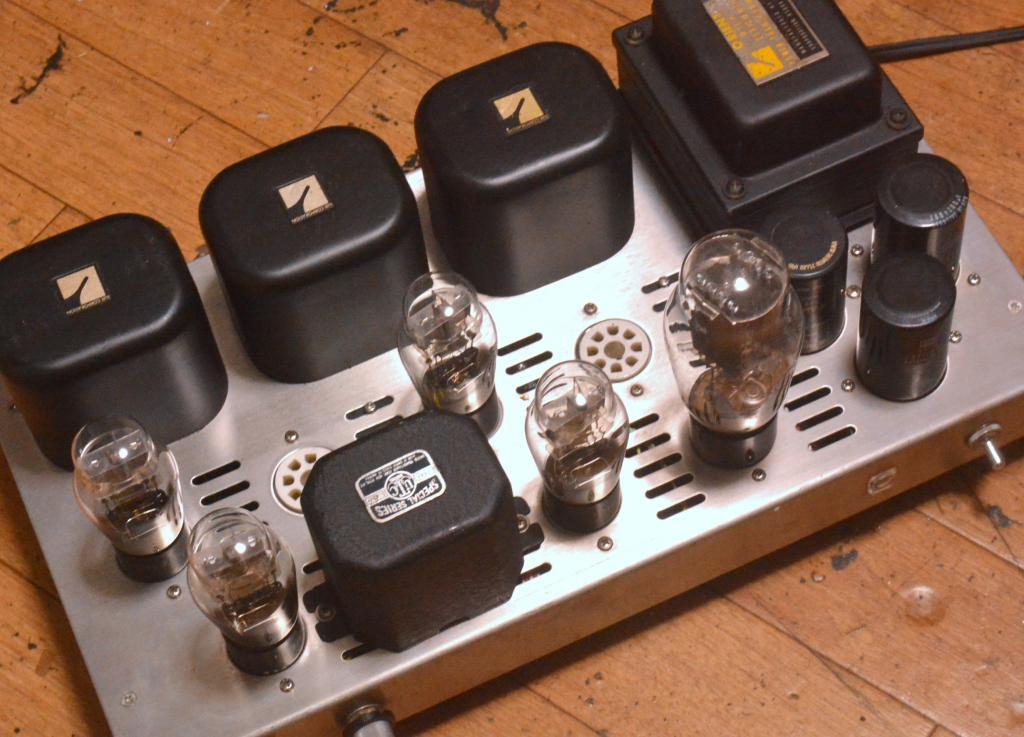 Best Speaker Wire >> OTOMON Laboratory (音門ラボ) / Morikawa 6B4G(2A3) stereo tube amplifier with all Luxman transformer