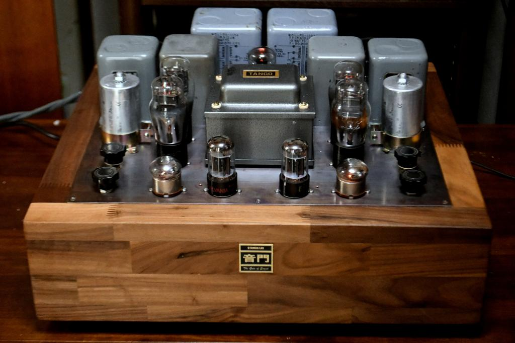 45 PP tube amplifier class A1 with early TRIAD output transformers
