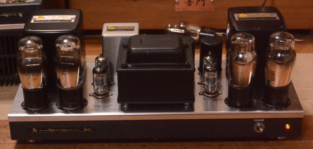 71A push pull tube amplifier on MQ-60 chassis