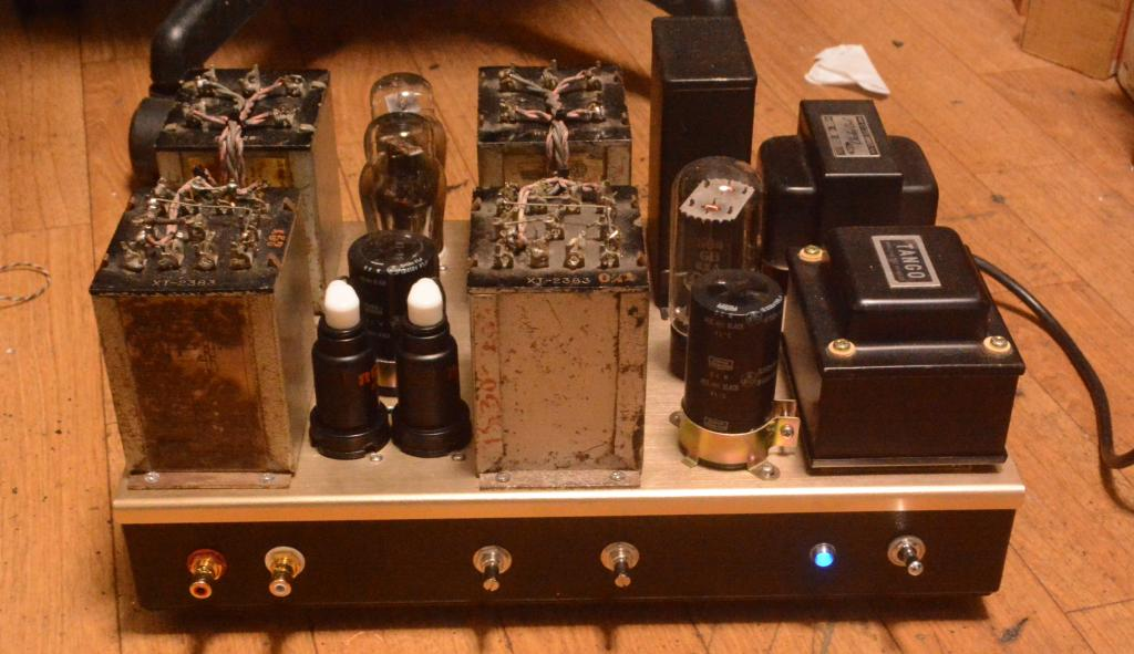 50s year RCA MI-3230 tube preamp with input, output transformer