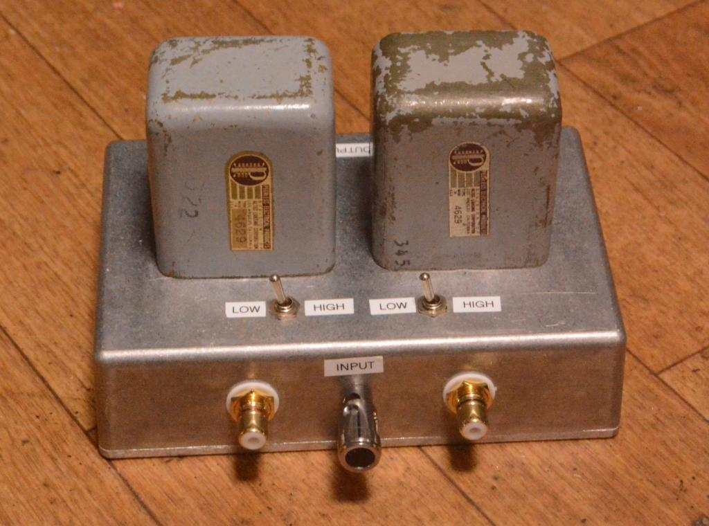 40s years PEERLESS (Altec) No, 4629 step up/input transformer