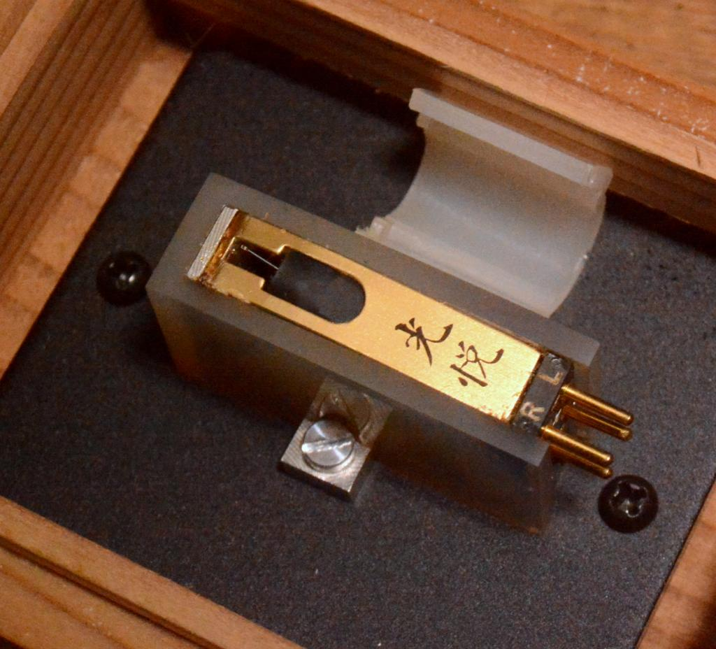 New old stock Prototype Koetsu Onyx cartridge for professional Long body * Perfect condition