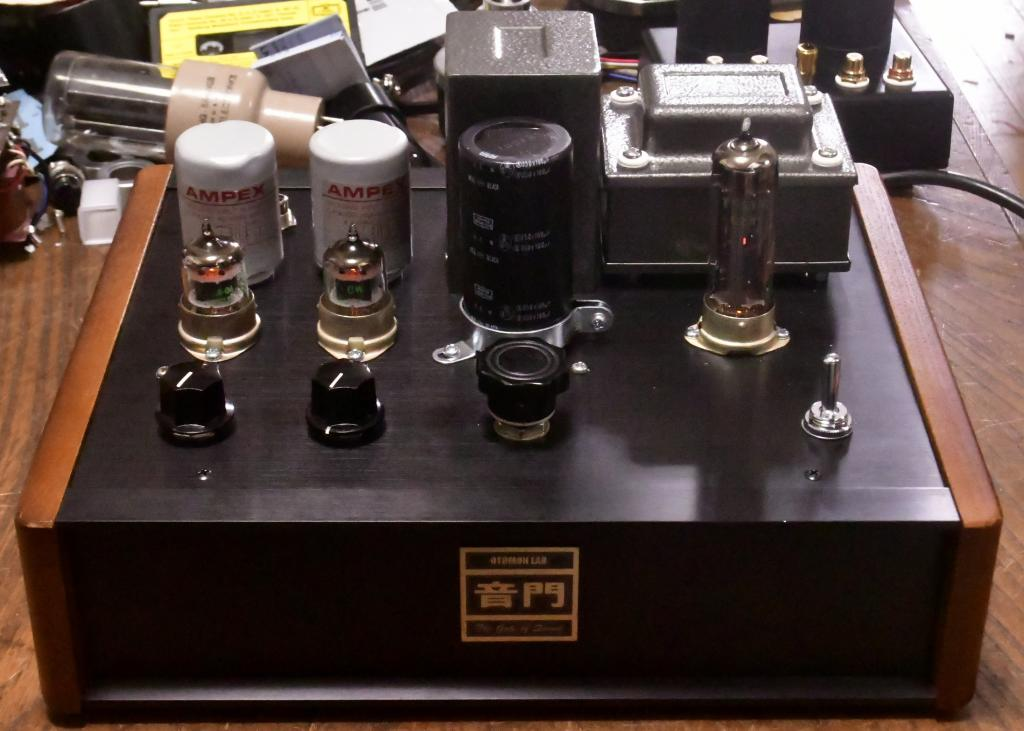 WE396A preamp tube amplifier with Ampex output transformer