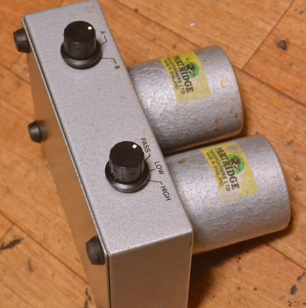 Ex RARE * Early Partridge step up transformer TH-7834 Mk2 for all cartridges.