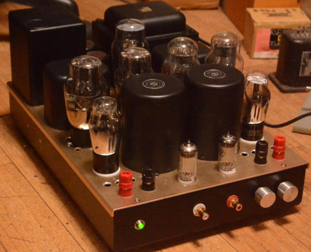 Uesugi Yoshiro 6B4G(2A3) PP tube amplifier for Tannoy autoghraph speaker