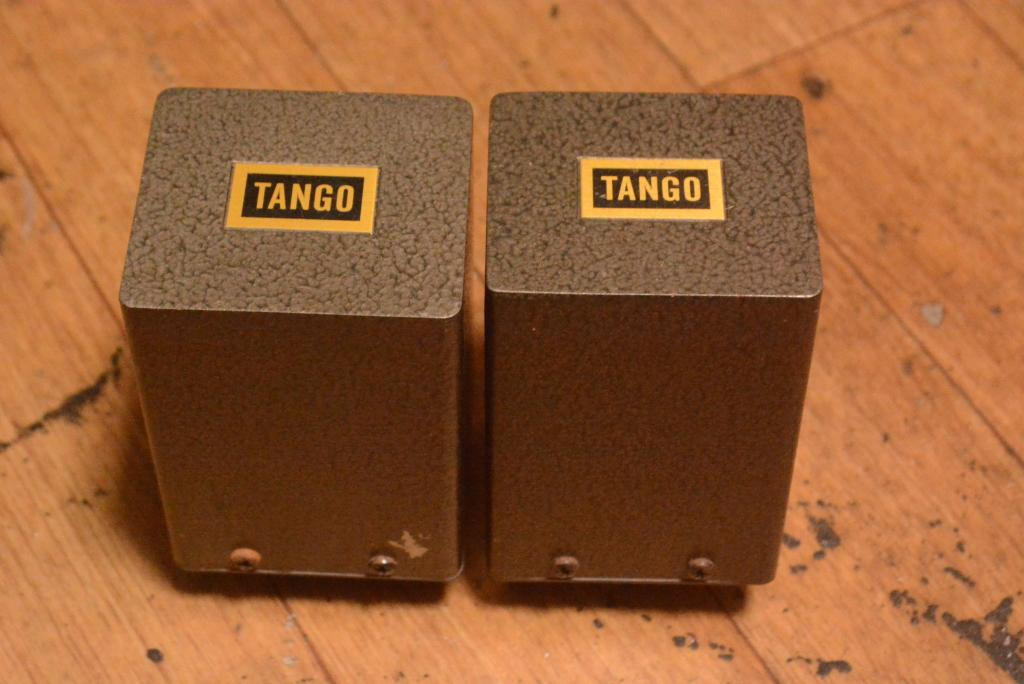 Hirata TANGO special order made input, stepup transformer with permalloy core