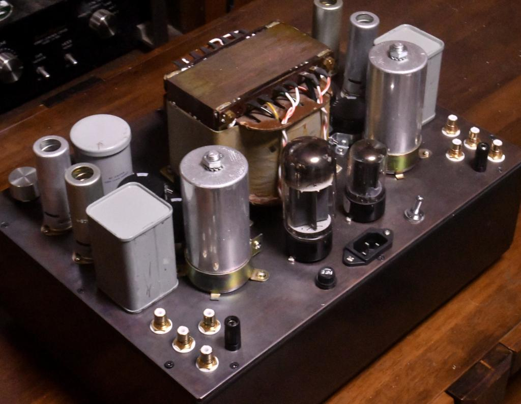 Order madePreamp with phono stage  with all Jorge Schou transformers