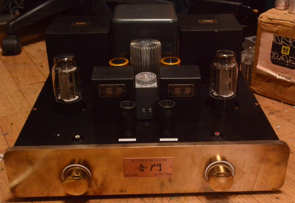 Special order made EL-156SE tube amp with Hirata TANGO OPT