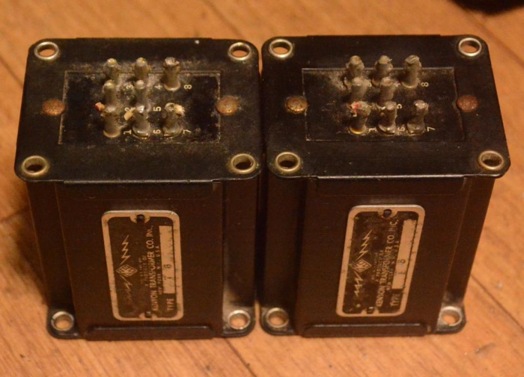 40s years KENYON T-6 input, step up transformer * Perfect sound
