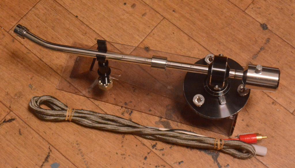 70s year Audio Technica AT-1501 12inches long tonearm for professional * Perfect cond