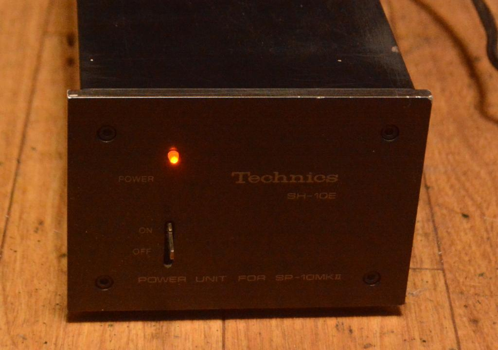Technics SH-10E power supply for SP-10 turntable * VG working