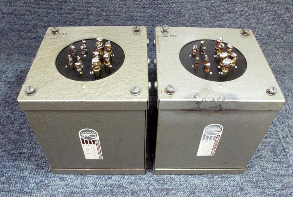Used pair Peerless S-271-S output transformer for 300B, PX-25, PX4 ...