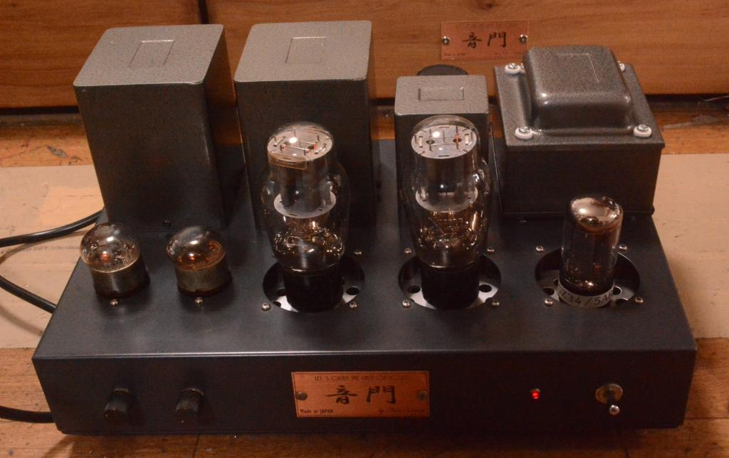 717A 45/2A3 SE tube amplifier special order made for high sensitive speaker system