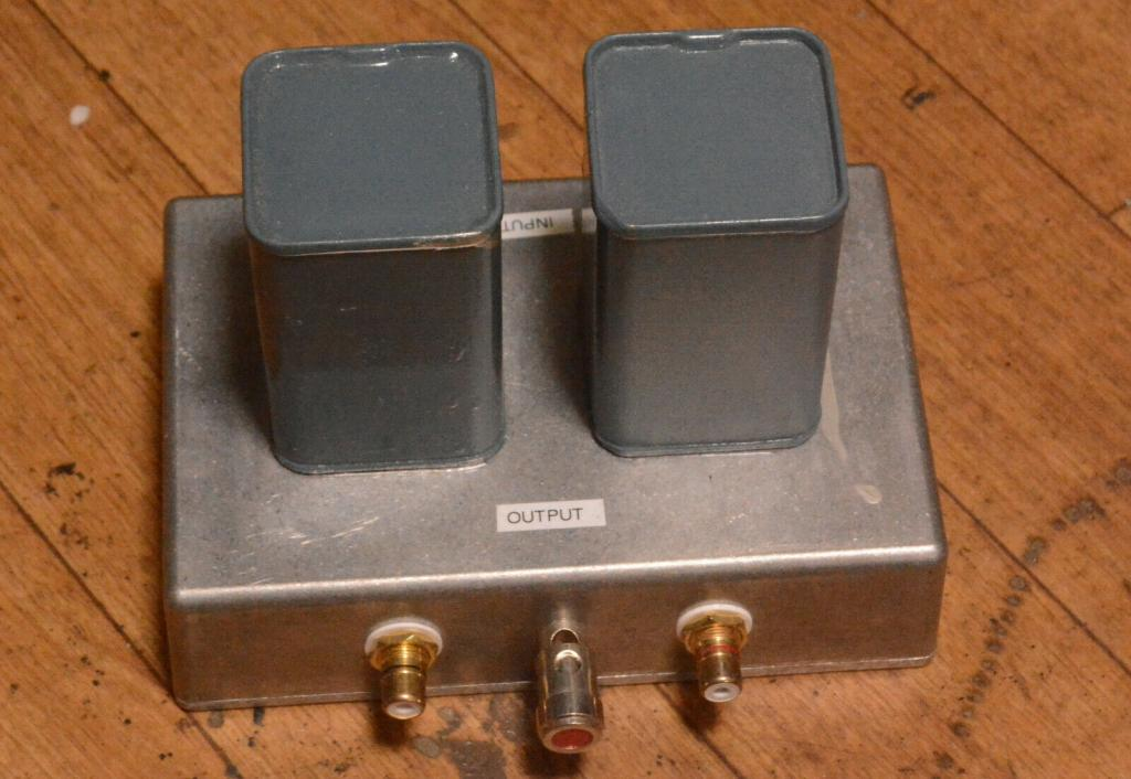 Early Jorgen Schou JS No 6101 step up transformer 1:10 for EMT, DL-103 v..v.. cartridges