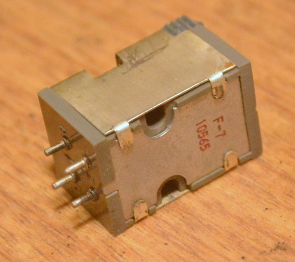 Grace F-7 stereo cartridge manufactured in 60s year by Ikeda-san * VG++