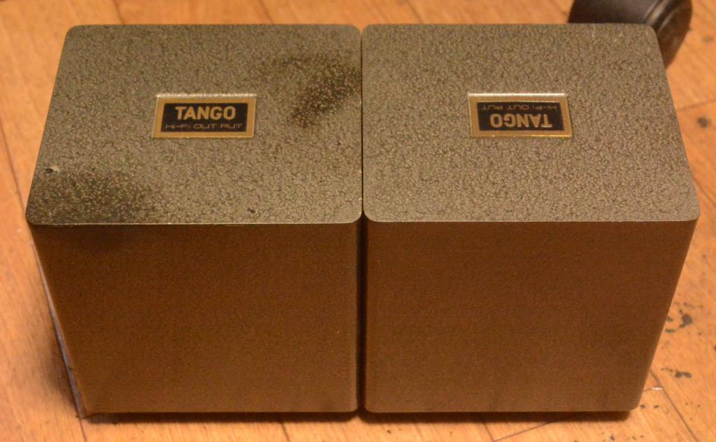 Used Pair Hirata Tango OPT special order made orient High-B Cut core same X series 3K
