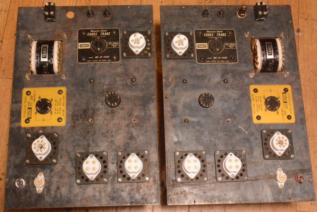 300B PSE tube amplifier monoblock x 2 * ALL TANGO transformer