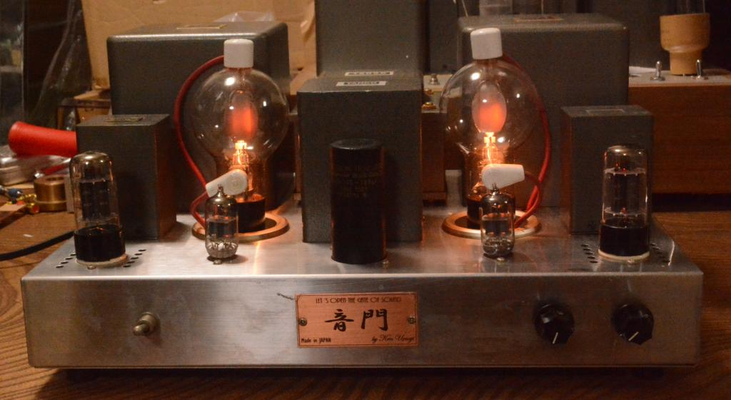 808 SE tube amplifier with all special order made Hirata TANGO transformer