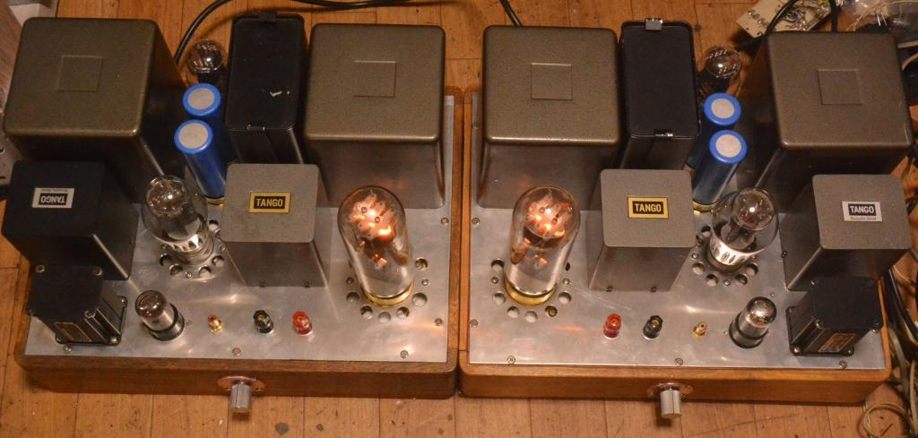 211 SE special order made amplifier with all Hirata TANGO transformer 300B drive 211 class A2