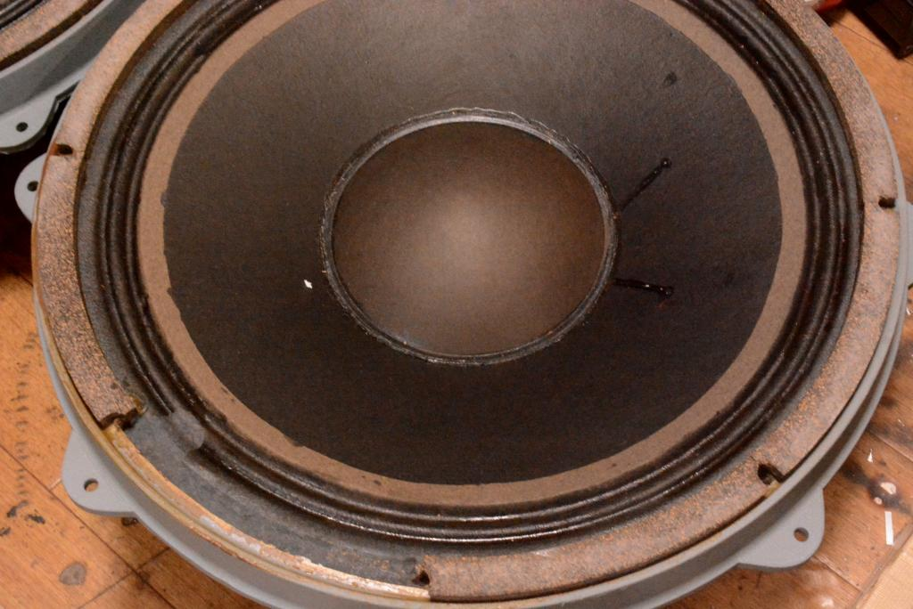 Early Pair GOTO UNIT 70s year woofer SG-38W * Ex RARE