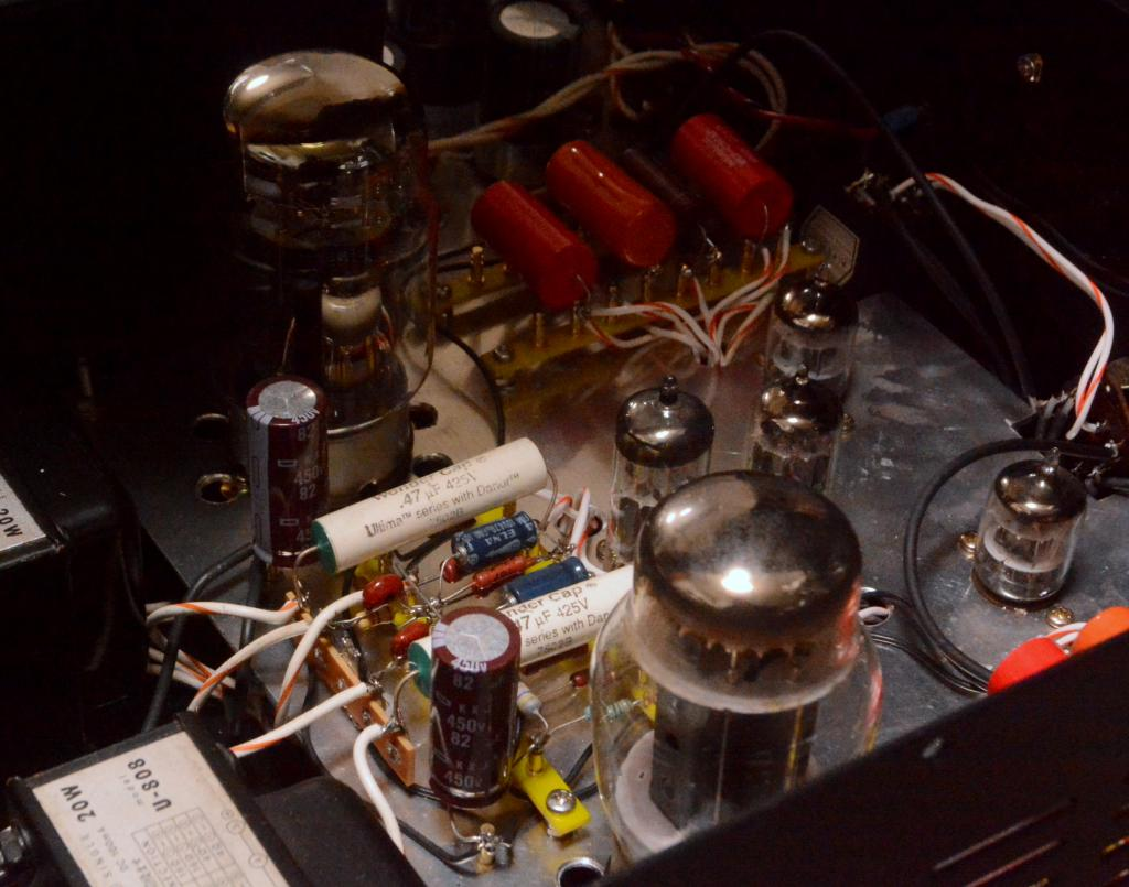 71A/46/42/10Y/VT-25/45/KT88/EL-34 intergrated tube amplifier with phono stage