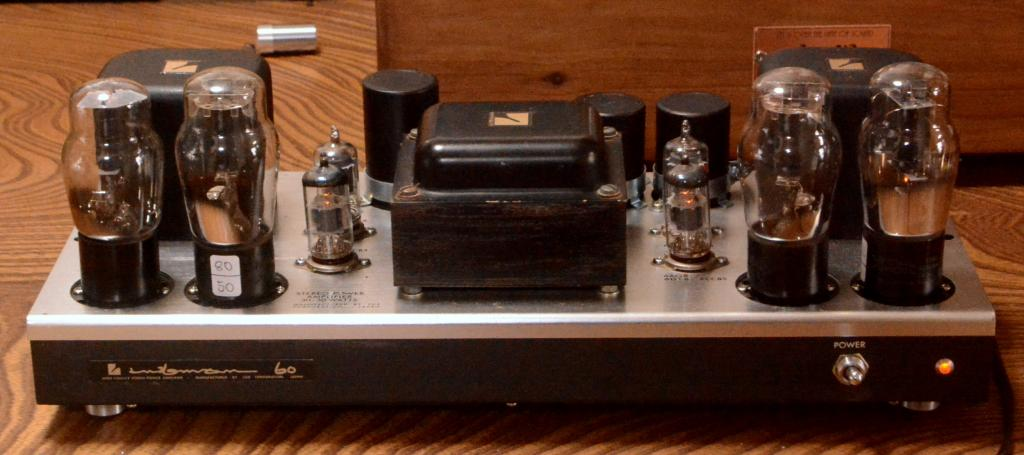 42 push pull tube amplifier on MQ-60 chassis