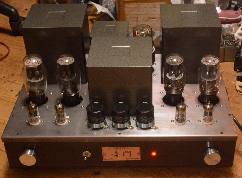 2A3 PSE tube amplifier with ALL special order made transformer