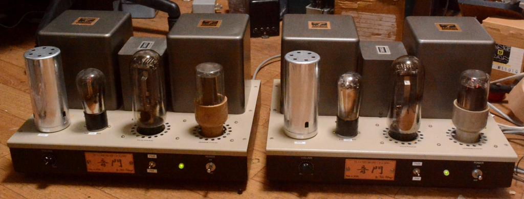 Western Electric 91B type PX-4, PX-25 mono block x 2 tube amplifier with X-3.5S transformer