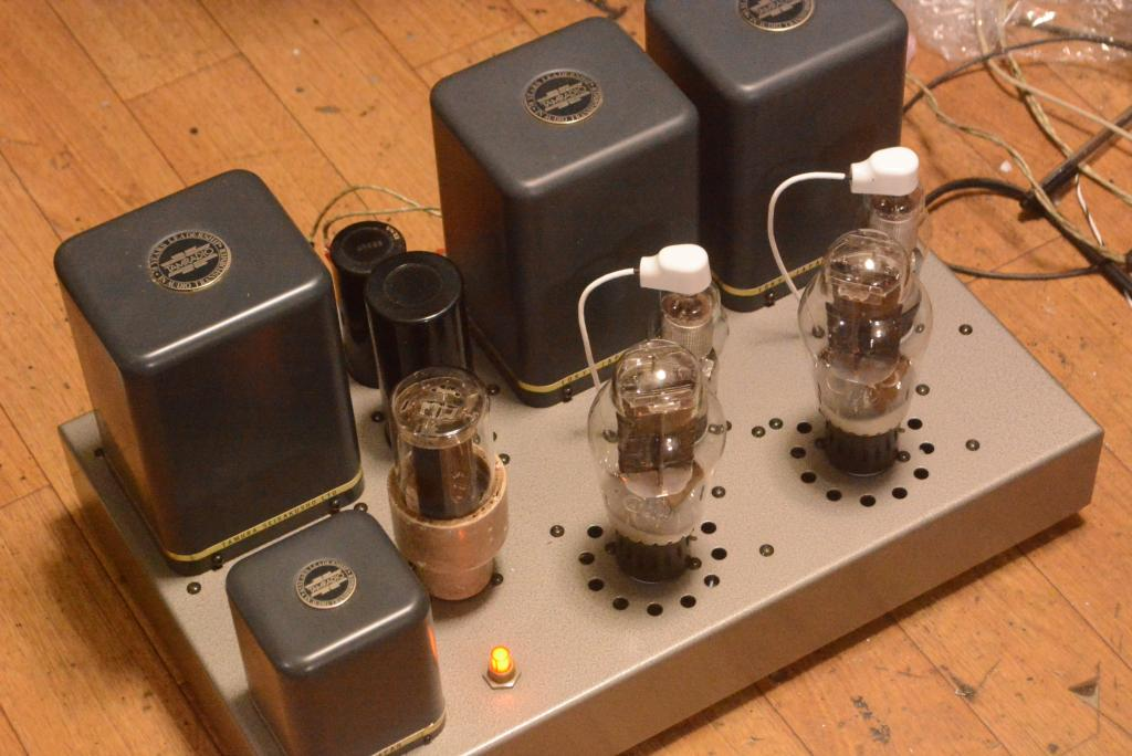 300B SE Western 91B type tube amplifier with ALL TAMURA transformers without tubes