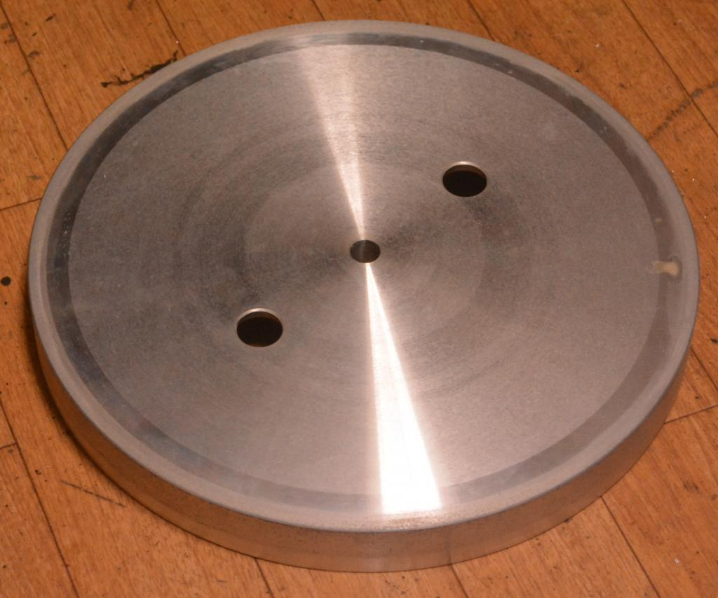 Original Micro seiki aluminum flatter for DIYer using for BL-91, BL-111, RX-1500, RX-5500 turntable